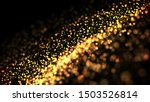 Composition Of Gold Particles...