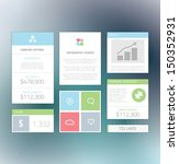 minimal info graphic flat fresh ...