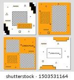 design square banner template... | Shutterstock .eps vector #1503531164