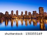modern urban city skyline... | Shutterstock . vector #150355169