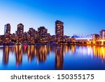 modern urban city skyline... | Shutterstock . vector #150355175
