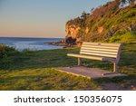 Coastal Bench Sunrise