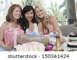 portrait of multiethnic women... | Shutterstock . vector #150361424