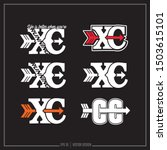collection of six cross country ... | Shutterstock .eps vector #1503615101
