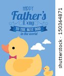 Father's Day Ducky Template...