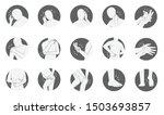 human body pain icon set  flat... | Shutterstock .eps vector #1503693857