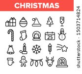 christmas collection elements... | Shutterstock .eps vector #1503714824