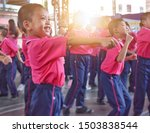 primary thai students are...   Shutterstock . vector #1503838544