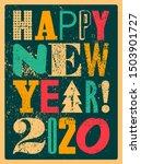 happy new 2020 year ...   Shutterstock .eps vector #1503901727