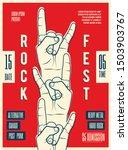 rock music festival party...   Shutterstock .eps vector #1503903767