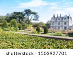 old manor house with blurred... | Shutterstock . vector #1503927701