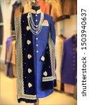 sherwani. groom attire. wedding ... | Shutterstock . vector #1503940637