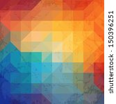 colorful geometric background...   Shutterstock .eps vector #150396251