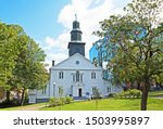 st. pauls anglican church is... | Shutterstock . vector #1503995897