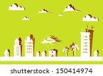 city background | Shutterstock .eps vector #150414974