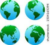 globe map   globe worldwide can ... | Shutterstock .eps vector #1504165394
