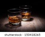 whiskey in glass | Shutterstock . vector #150418265