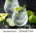 Gin And Tonic Alcohol Drink...