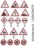 road sign | Shutterstock .eps vector #150424079