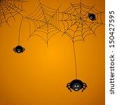 halloween background. the... | Shutterstock .eps vector #150427595
