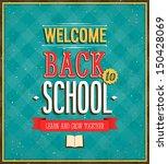 back to school design. vector... | Shutterstock .eps vector #150428069