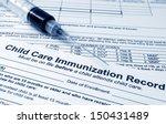 immunization concept | Shutterstock . vector #150431489