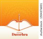Elegant Hindu Happy Dussehra...