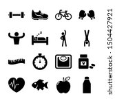 healthy solid icons vector... | Shutterstock .eps vector #1504427921
