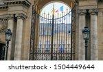 Paris  France   Entrance Gate...