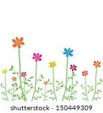 vector flowers  | Shutterstock .eps vector #150449309