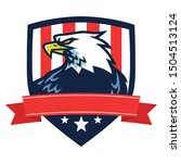 American Eagle Logo Mascot...