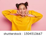 image of lovely young asian... | Shutterstock . vector #1504513667
