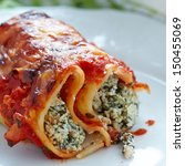 Cannelloni With Spinach And...