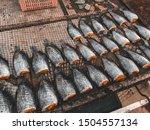 dried plasalid fish in thailand   Shutterstock . vector #1504557134