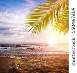 tropical beach south africa ... | Shutterstock . vector #150467609