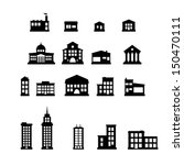 Buildings   Buildings Icon Set