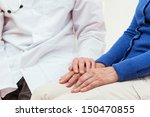 doctor's help for an elderly... | Shutterstock . vector #150470855