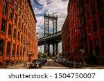 Manhattan Bridge Seen From A...