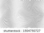 black line wave curve concept... | Shutterstock .eps vector #1504750727