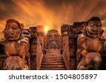 Shine of Sun temple in konark