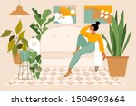 vector illustration in flat... | Shutterstock .eps vector #1504903664