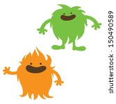 monsters couple | Shutterstock .eps vector #150490589