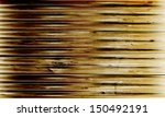 brown grunge abstract backdrop | Shutterstock .eps vector #150492191