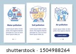 pollution onboarding mobile app ...