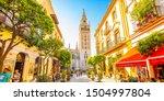 sevilla  spain   15 march  2019 ...   Shutterstock . vector #1504997804