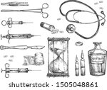 vector illustration of surgery...   Shutterstock .eps vector #1505048861
