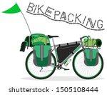 vector illustration of touring... | Shutterstock .eps vector #1505108444