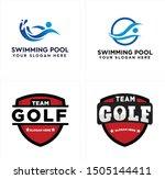 logo design with people splash...