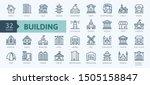 building minimal thin line web... | Shutterstock .eps vector #1505158847