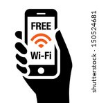free wi fi icon | Shutterstock .eps vector #150524681